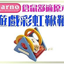 【Plumes寵物部屋】CARNO卡諾《倉鼠遊戲彩虹鞦韆》 倉鼠楓葉鼠銀狐蜜袋鼯小動物~可