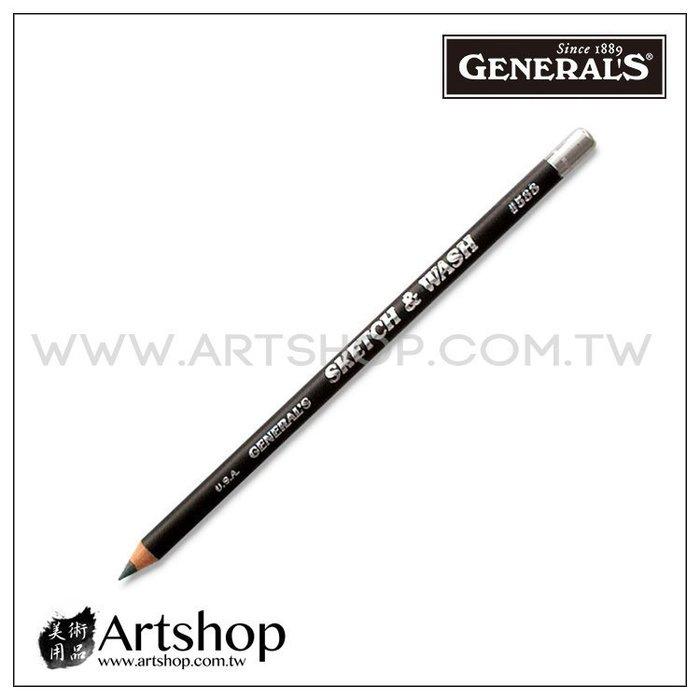 【Artshop美術用品】美國 GENERAL 將軍牌 588 水性素描鉛筆