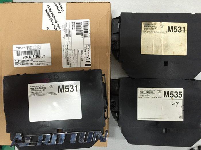 【AEROTUN 】PORSCHE保時捷 Boxstet 986 2000~2005年 2.7 3.2 新品舊電腦維修。