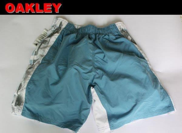 【OAKLEY】沖浪 滑板 單車 風帆 機能性休閒海灘短褲/ 34腰 *全新正品,美國寄出*O004*NEW