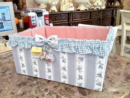 美生活館---全新鄉村ZAKKA 生活雜貨--純棉拼布花 方型收納盒/置物盒(大)--可拆洗/MIT生產
