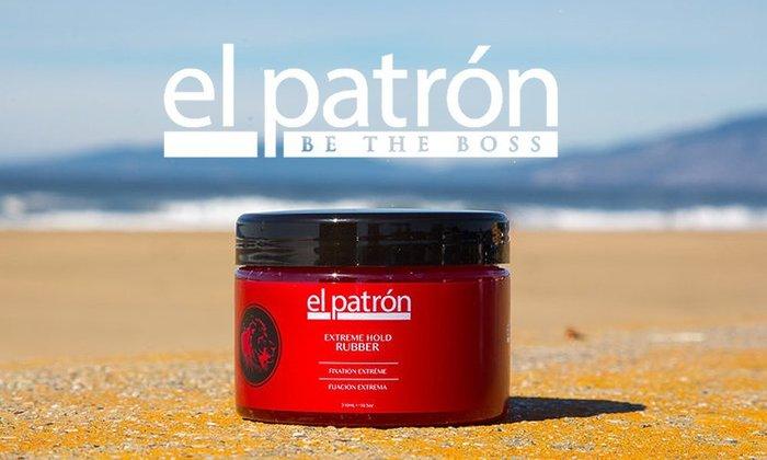 GOODFORIT / 美國El Patron Extreme Hold Rubber極限橡膠級髮膠/10.5OZ