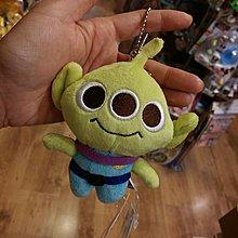 100% 原裝日本 Disney Toystory 系列 Alien 三眼仔 Baby  可愛 公仔型大頭 散子包 Coins Bag 小物包 吊飾 公仔吊飾