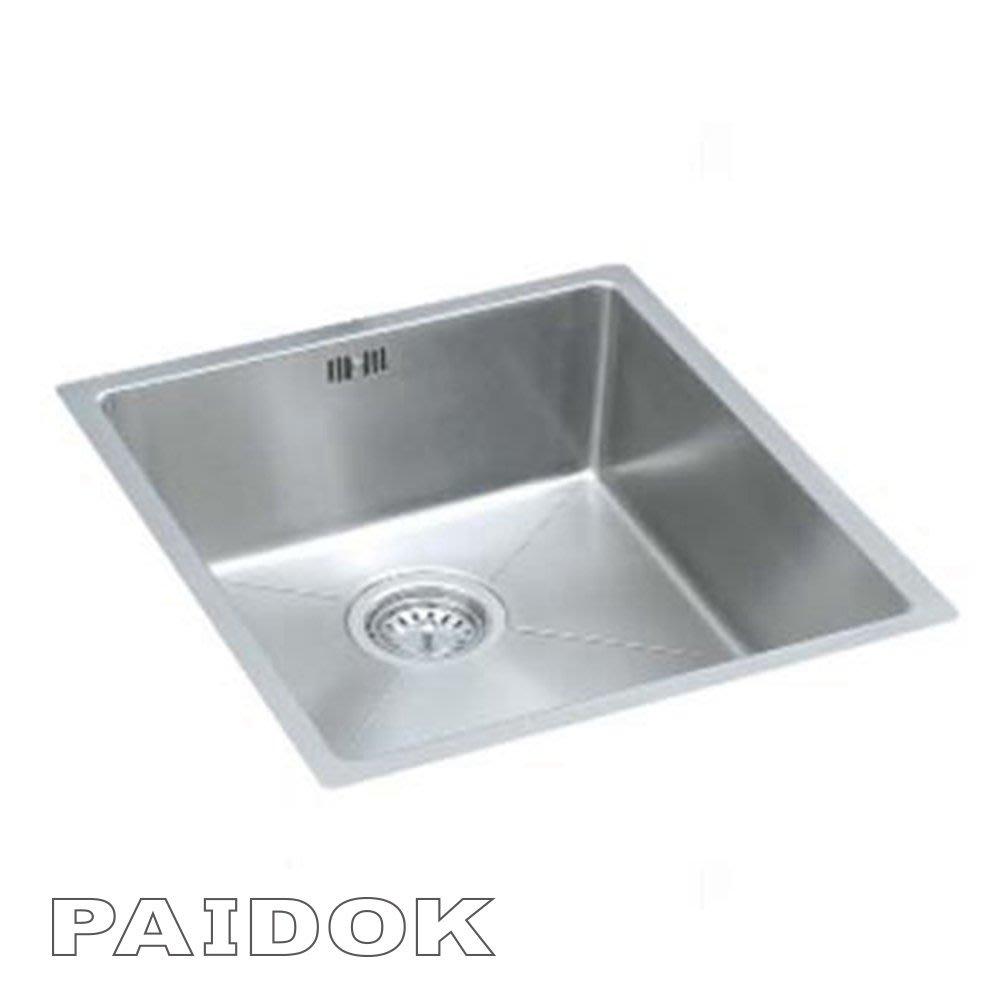 I-HOME 德國PAIDOK PDK-FR105 不銹鋼方形水槽 *量多可議價*免運