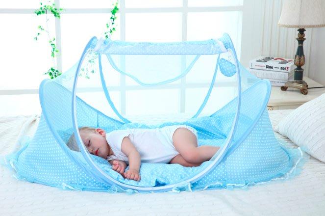 寶寶蚊帳 寶寶防蚊 蚊帳 嬰兒蚊帳 0~3個月 粉色/藍色