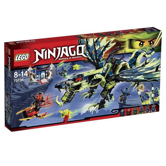 全新現貨【LEGO 樂高 】100% 全新正品 益智玩具 積木 / Ninjago 忍者系列: 摩洛龍的攻擊 70736