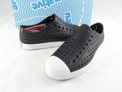 【iSport愛運動】 native 洞洞鞋 JEFFERSON  黑白 正品  111001001105 男女款