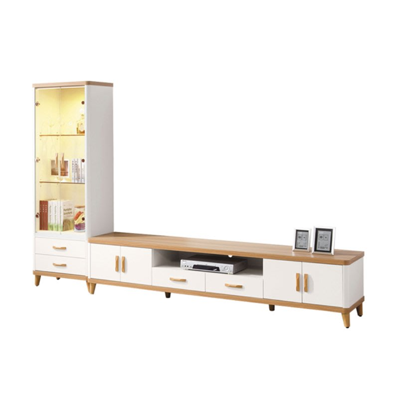 Ahouse卡帝亞9尺L型電視櫃 免運費/免組裝