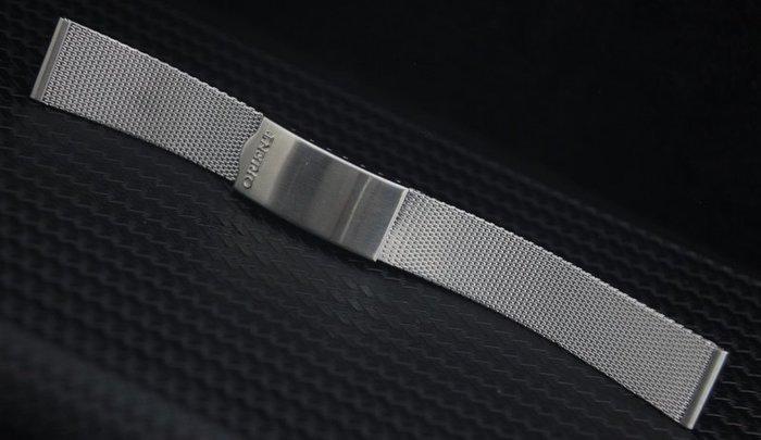 18mm 100%全不鏽鋼米蘭表帶,單折錶扣台灣工廠出清歷史庫存~非精品超值百搭款~DW seiko timex