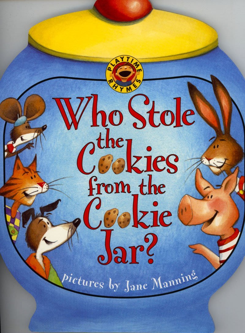 *小貝比的家*WHO STOLE THE COOKIES FROM THE COOKIE JAR?平裝/3~6歲