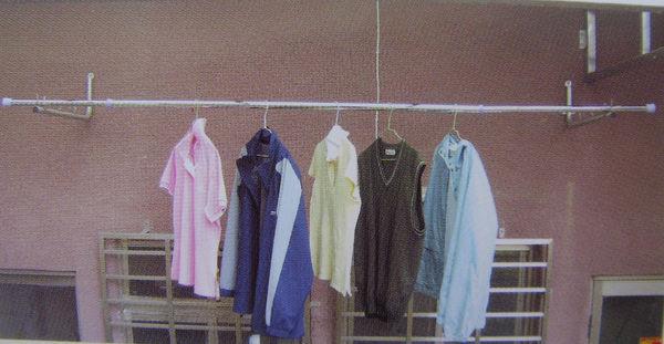 Ψ網路批發商城ΨDT03 4米伸縮晒衣桿  曬衣桿 晾衣架  吊衣架 室內外曬衣架