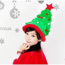 聖誕樹帽 ~~shw飾品~~聖誕節.派對表演.服裝舞蹈道具用品~聖誕帽 聖誕樹 聖誕飾品