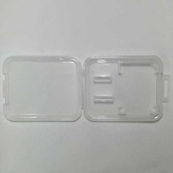 含稅 200個一組  2入記憶卡 收納盒 保存盒 SD/microSD 各一片 可裝 kingston sandisk