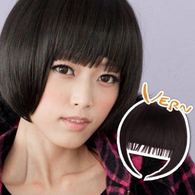 韋恩瀏海-流蘇瀏海假髮片-平價優質-獨家設計小丸子琴鍵瀏海新造型-日本仿真髮絲Vernhair【VH11504】