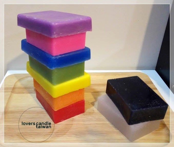 蠟燭塊-Loverscandle-戀人藝術蠟燭專賣店-蠟燭DIY材料,長方體蠟燭塊,一片100公克好分配