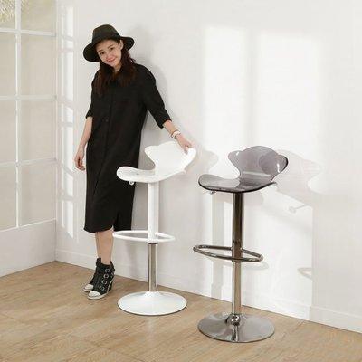 書房/臥室【居家大師】YC-BS117 小金魚壓克力吧檯椅/ 兩色可選