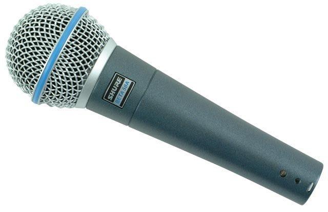 【六絃樂器】全新 Shure BETA 58A  高階動圈式麥克風 新麗聲公司貨 / 舞台音響設備 專業PA器材