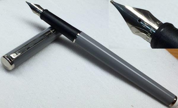 威利的鋼筆世界【西華新款平價鋼筆大集合】全新SHEAFFER AGIO 亮灰色漢漆鋼筆 M