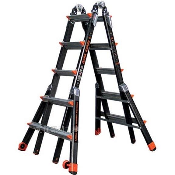 【花蓮源利】 美國 Little Giant 小巨人M22 5-9呎 多功能 絕緣梯 玻纖梯 拉梯 工作梯 防電擊