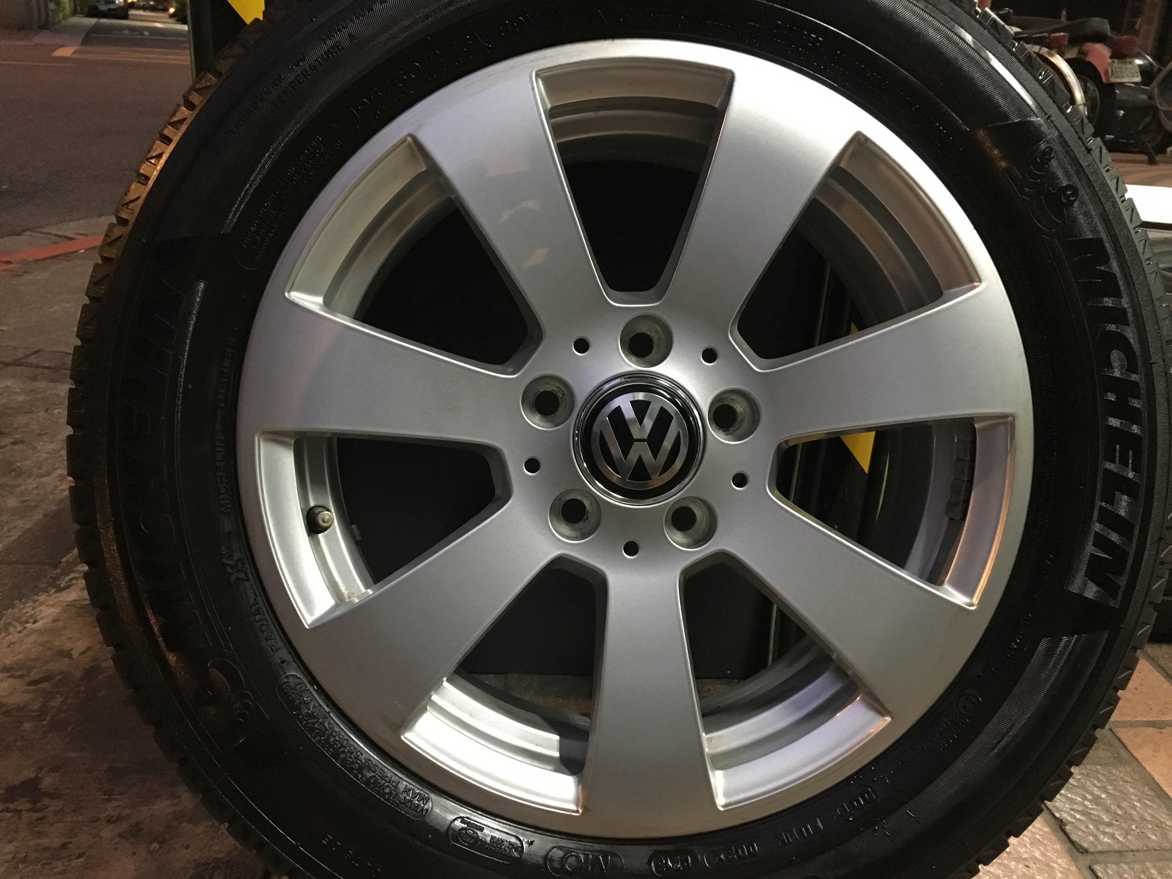 中古 賓士 原廠16吋含胎 BENZ w203 W204 W210 VW T4 Caddy Golf Skoda 福斯