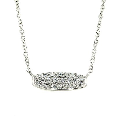 【JHT 金宏總珠寶/GIA鑽石專賣】0.49ct天然鑽石項鍊/材質:18K(JB41-A24)