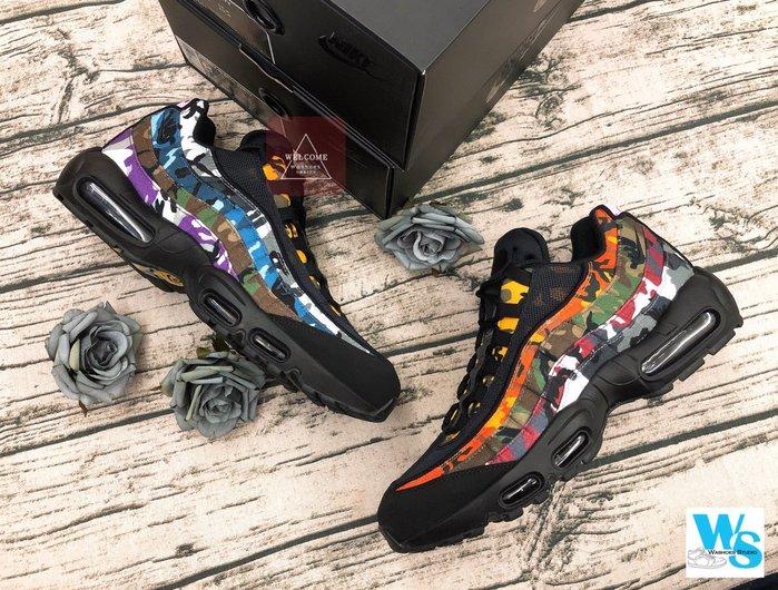 Washoes Nike Air Max 95 ERDL PARTY 黑色 迷彩 AR4473-001 現貨11 12