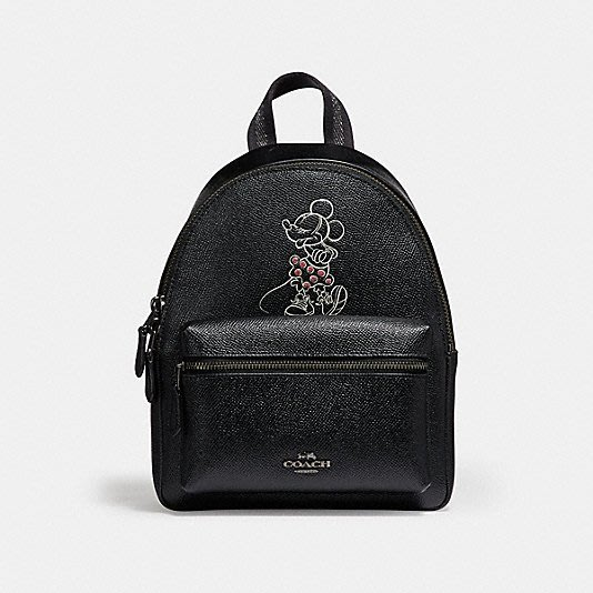 COACH 29353 MINI CHARLE BACKPACK WITH MINNIE MOUSE MOTIF後背包