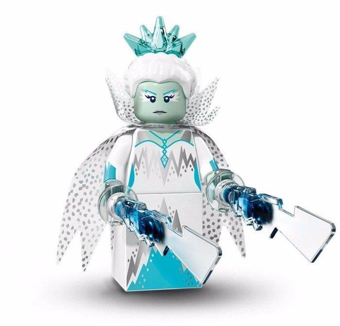 現貨【LEGO 樂高】美國正品 積木/ Minifigures人偶包系列: 16代 71013 單一人偶: 冰雪皇后