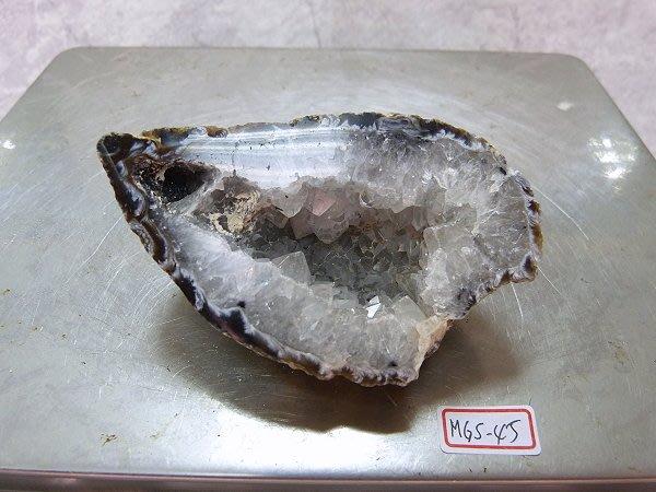 ☆寶峻晶石☆特價~單邊 迷你瑪瑙晶洞 / 雷公蛋 MGS-45