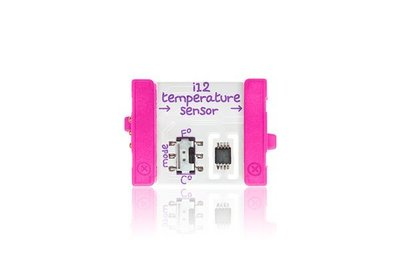 美國 littleBits 零件 (input) temperature sensor (8折出清)