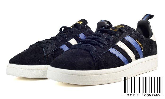 =CodE= ADIDAS ORIGINALS CAMPUS SUEDE 金標麂皮休閒鞋(深藍白)CQ2049 男女預購