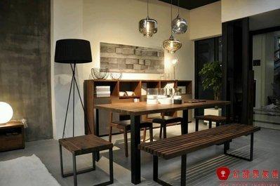[紅蘋果傢俱] N02 全實木  餐桌  餐椅  展示櫃 斗櫃 地櫃 工廠直營