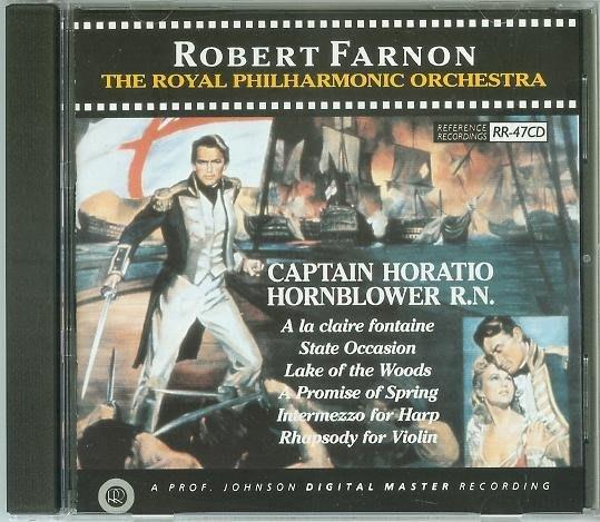 七海蛟龍 Captain Horatio Hornblower Suite- Robert Farnon,美版(117)