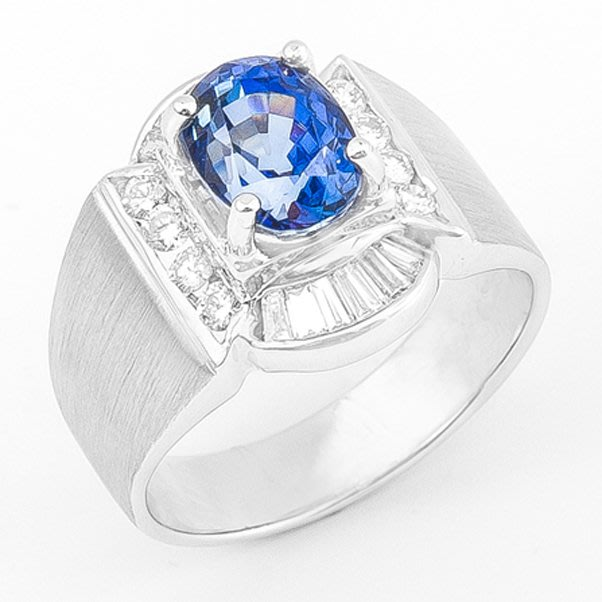 【JHT金宏總珠寶/GIA鑽石專賣】2.60ct天然藍寶鑽戒/材質:18K(JB26-A13)