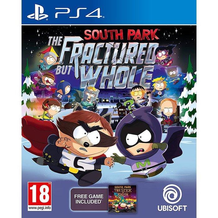 全新未拆 PS4 南方四賤客 浣熊俠聯盟 (含真實之杖下載) -英文版- South Park 南方公園 復仇者聯盟