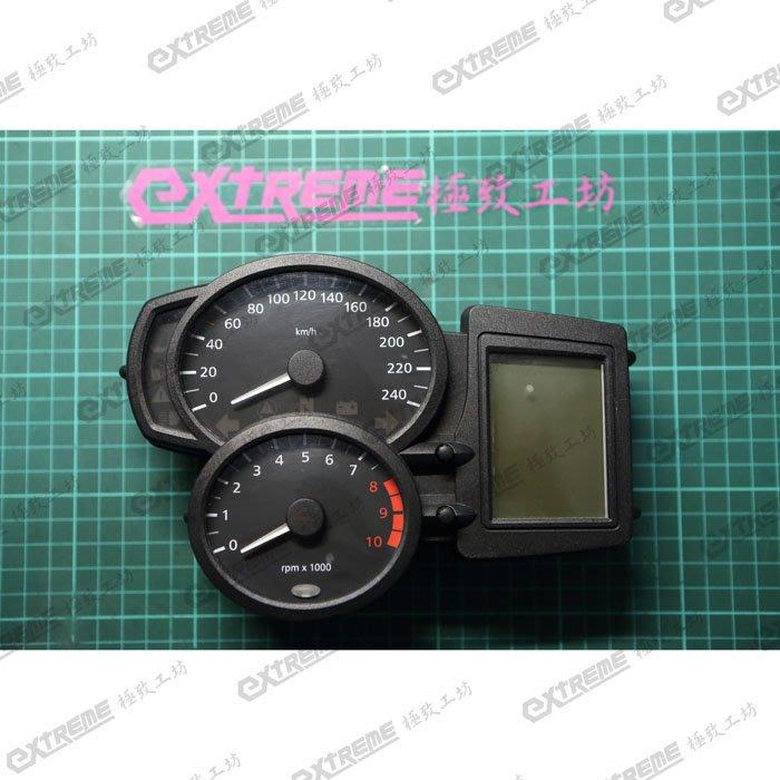 [極致工坊] BMW R1200 重車 液晶儀表板 碼錶 故障 微亮 維修