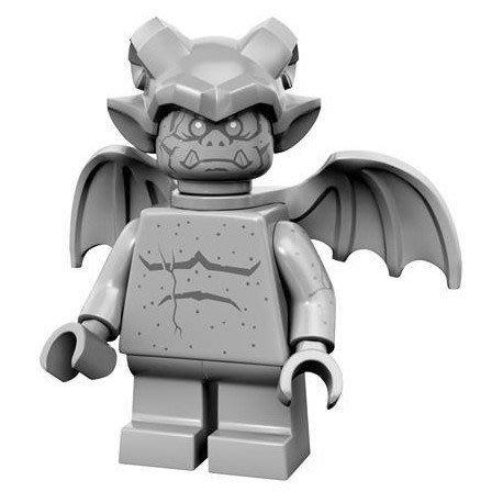 現貨【LEGO 樂高】益智玩具 積木/ Minifigures人偶系列: 14代人偶包抽抽樂 71010   石像鬼