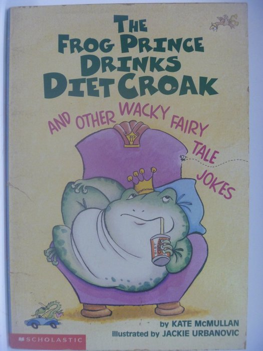 【月界】 The Frog Prince Drinks Diet Croak_McMullan ║外文小說║CCW