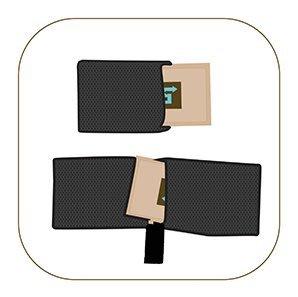 《小山烏克麗麗》美國製 Boveda 49% 49 雙向除濕包的保護棉包 保護套 (可裝1包)