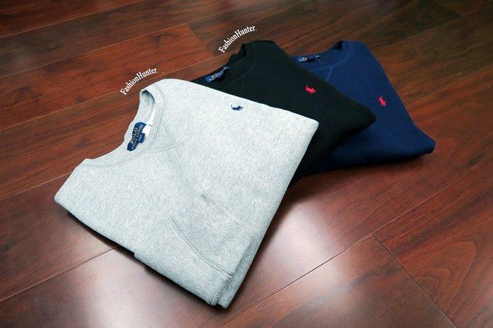 ►2件現折100加碼免運!Polo Ralph Lauren 大學t Fleece Sweatshirt 刺繡小馬 正品