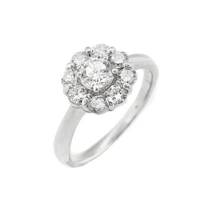 【JHT金宏總珠寶/GIA鑽石專賣】0.372ct天然鑽石造型戒指/材質:PT900/附證(JB43-A11)