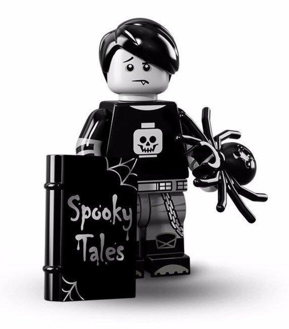 現貨【LEGO 樂高】美國正品 積木/ Minifigures人偶包系列: 16代 71013 單一人偶: 幽靈男孩