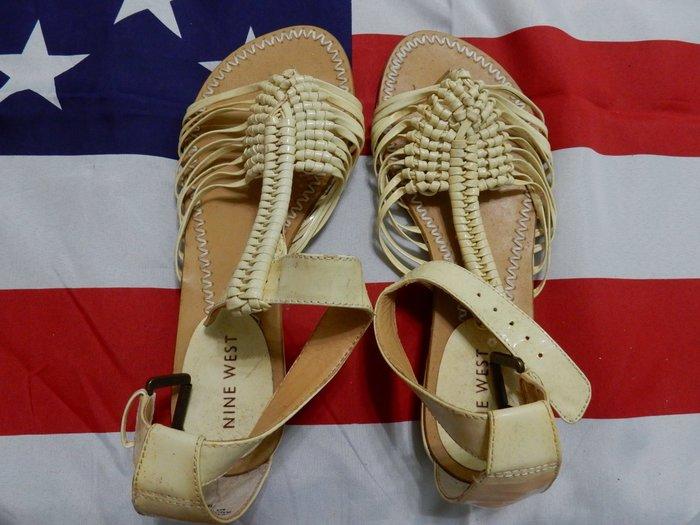 展示品 NINE WEST 平底涼鞋 5.5號