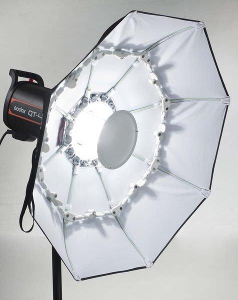 呈現攝影-德國Phottix 摺疊型雷達罩 70cm白底附柔光布 美膚罩 外拍棚拍 快收罩 離機閃 Bowens