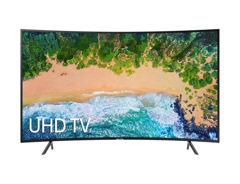 新竹市仙風電器~三星 SAMSUNG~55吋 4K UHD 黃金曲面 Smart TV UA55NU7300WXZW 實