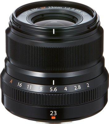 【高雄四海】Fujifilm 富士 FUJINON XF 23mm F2 R WR 全新平輸.一年保固.小廣角街拍/小品