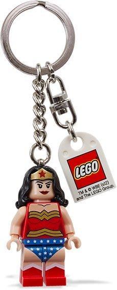現貨【LEGO 樂高】2016 最新款 美國官網正品 積木 鑰匙圈 人偶 吊飾/ 神力女超人 Wonder Woman
