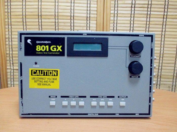 康榮科技二手測試儀器領導廠商Quantumdata 801GX Video Test Generator