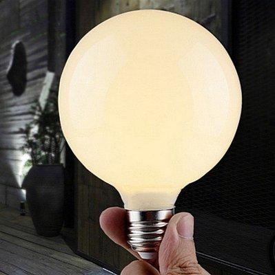 【威森家居】奶白龍珠燈泡 E27 LED G80 G95 G125 吸頂燈吊燈壁燈復古工業風節能簡約環保 L160408