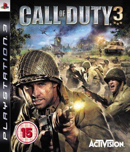 全新未拆 PS3 COD 3 決勝時刻 3 -英文白金版- 二戰 Call of Duty 3
